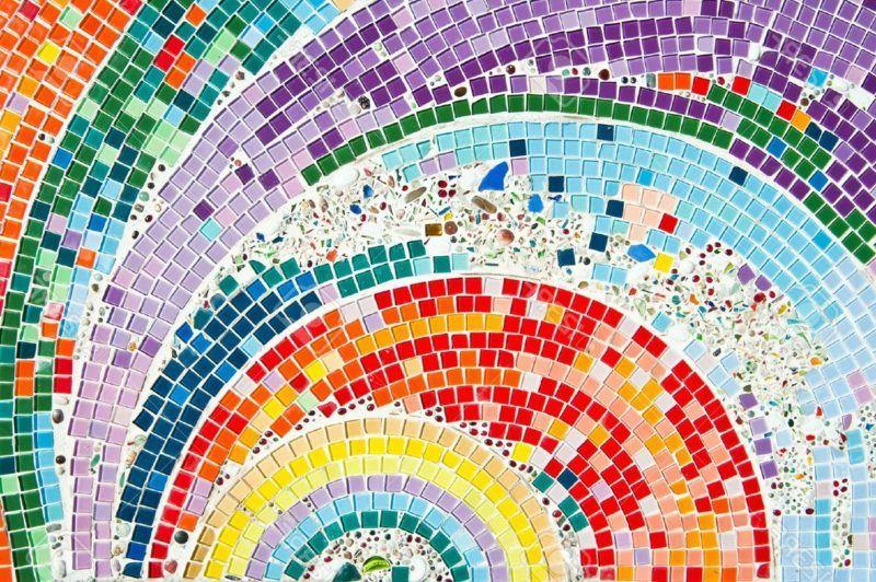 Mosaik basteln – 25 kreative Ideen zum Selbermachen