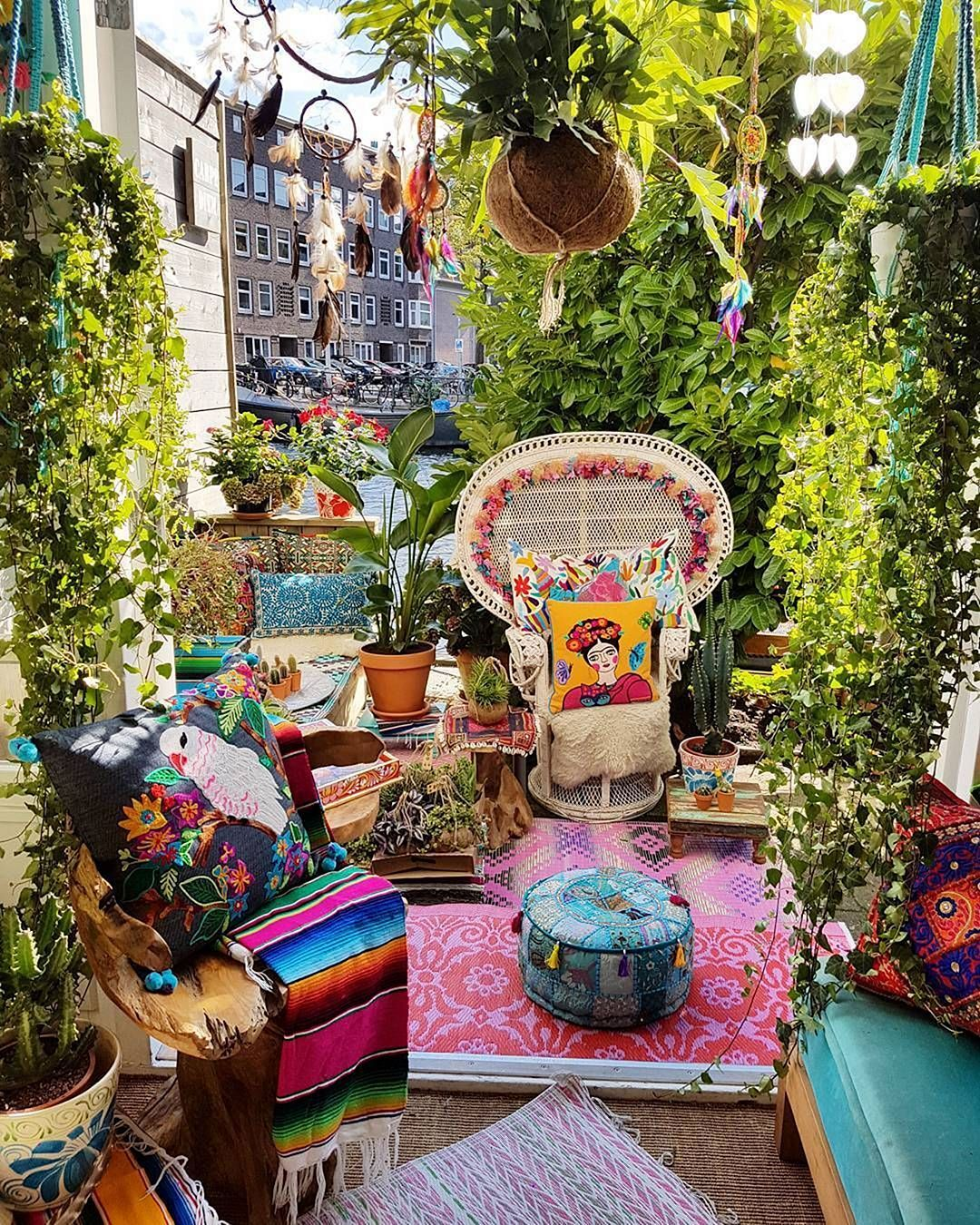 57 Amazing Beautiful Garden Ideas Inspiration And: 24 Beautiful Hippie Garden Design For Fun Garden