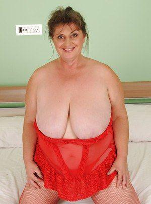 naked Hot fat granny