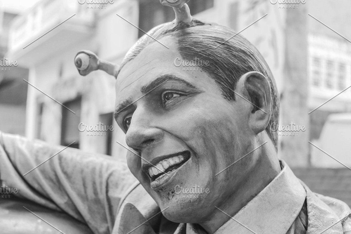 Carlos Gardel Alien In 2020 Restaurant Website Templates Restaurant Website Website Template