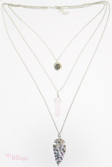 Dames 3in1 layer ketting  -  myblings.nl