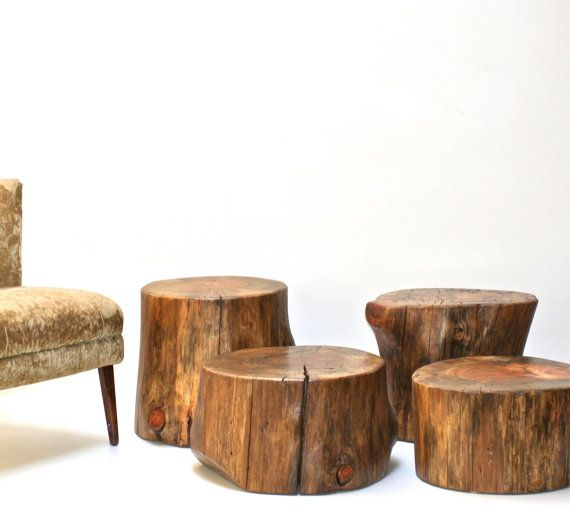 Tree Stump Coffee Table Base Custom RESERVED By Realwoodworks1, $524.00