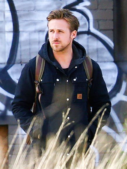FEELING BLUE   Ryan Gosling - handsome as ever...