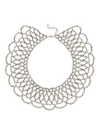 Silver bead cape necklace - Jewellery & Watches - Accessories