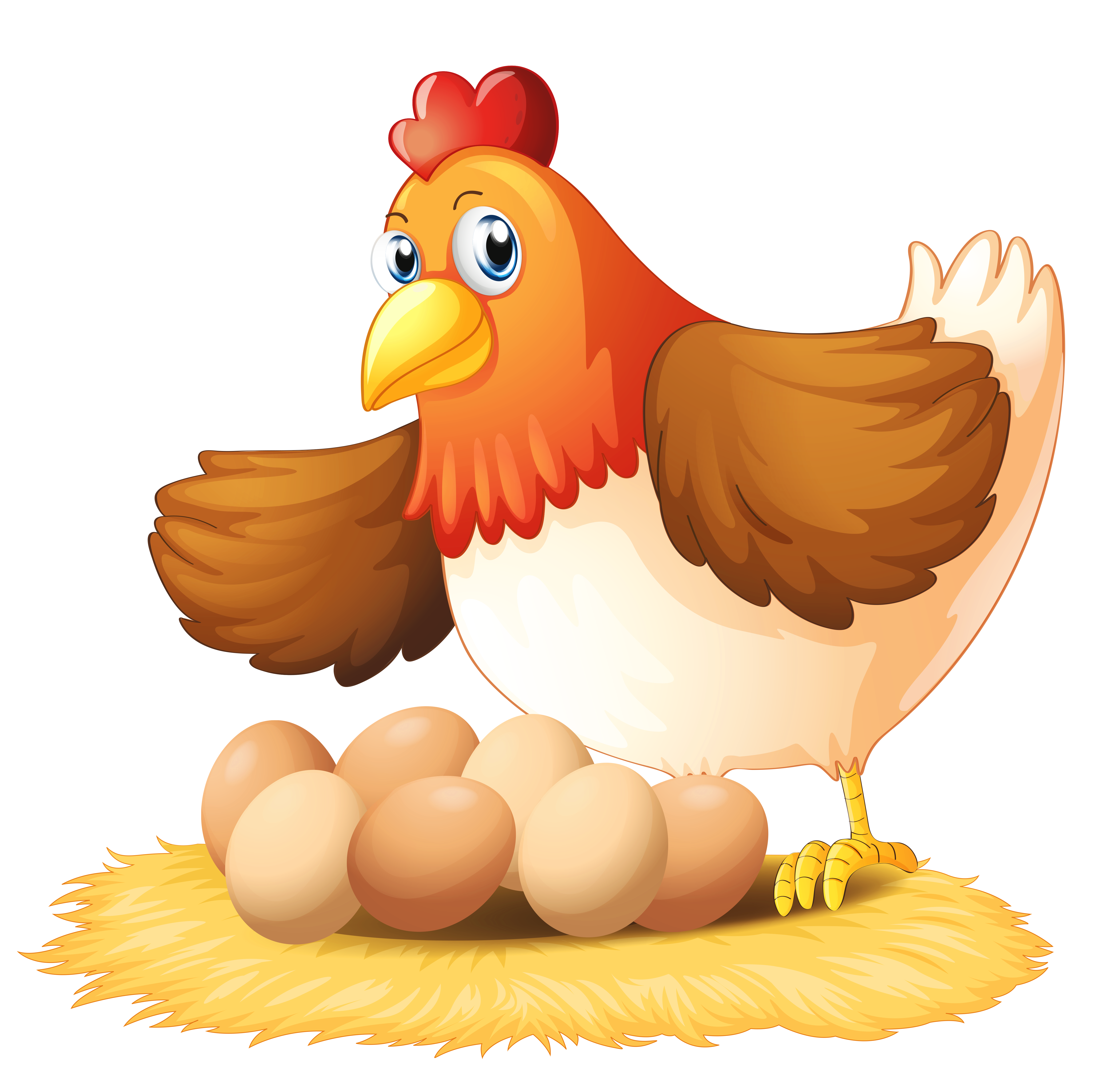 Hen With Eggs Clipart Gallery Yopriceville