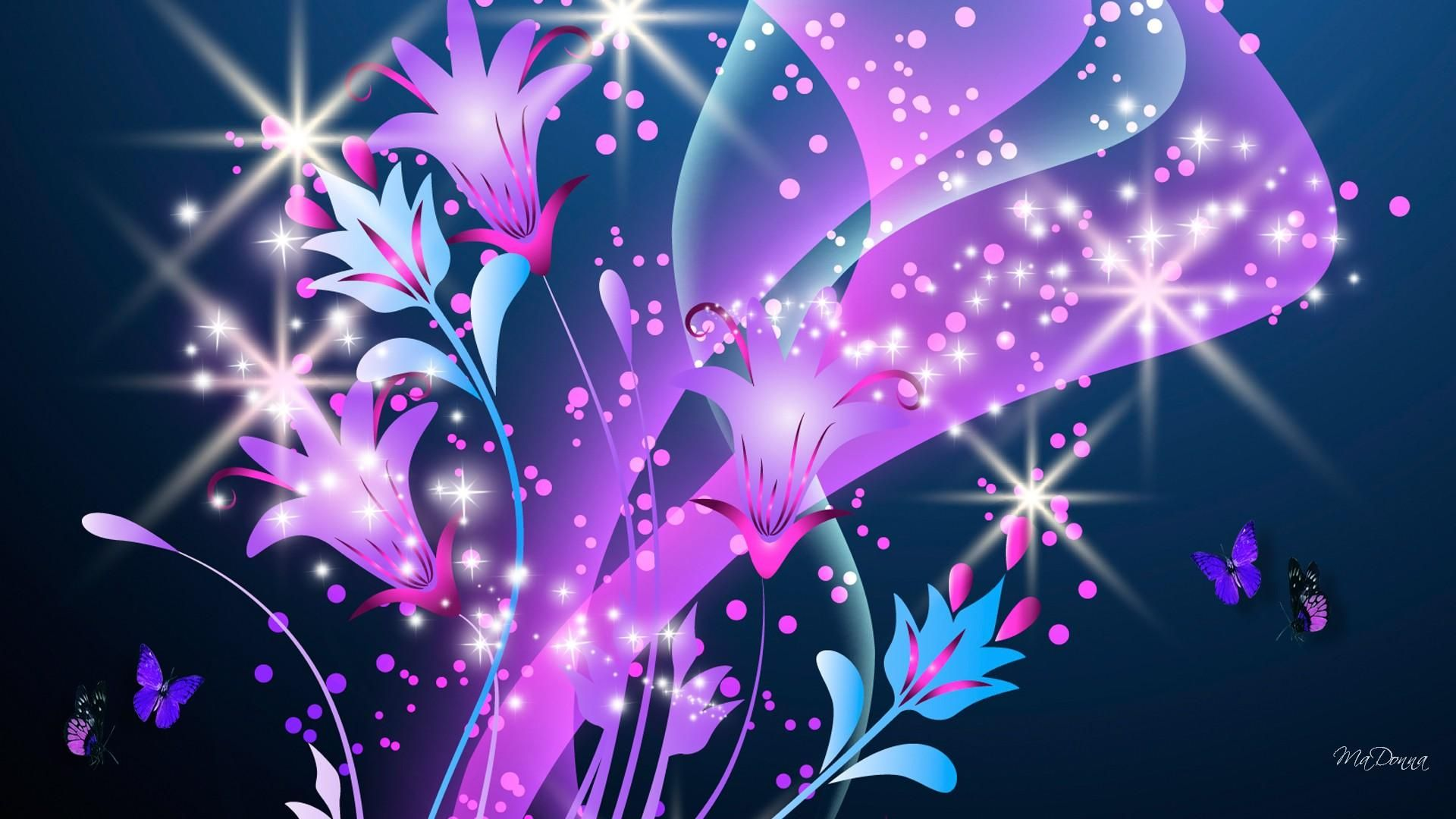 Hd Glitter Roses Wallpaper Novo Pink Glitter Wallpaper Glitter