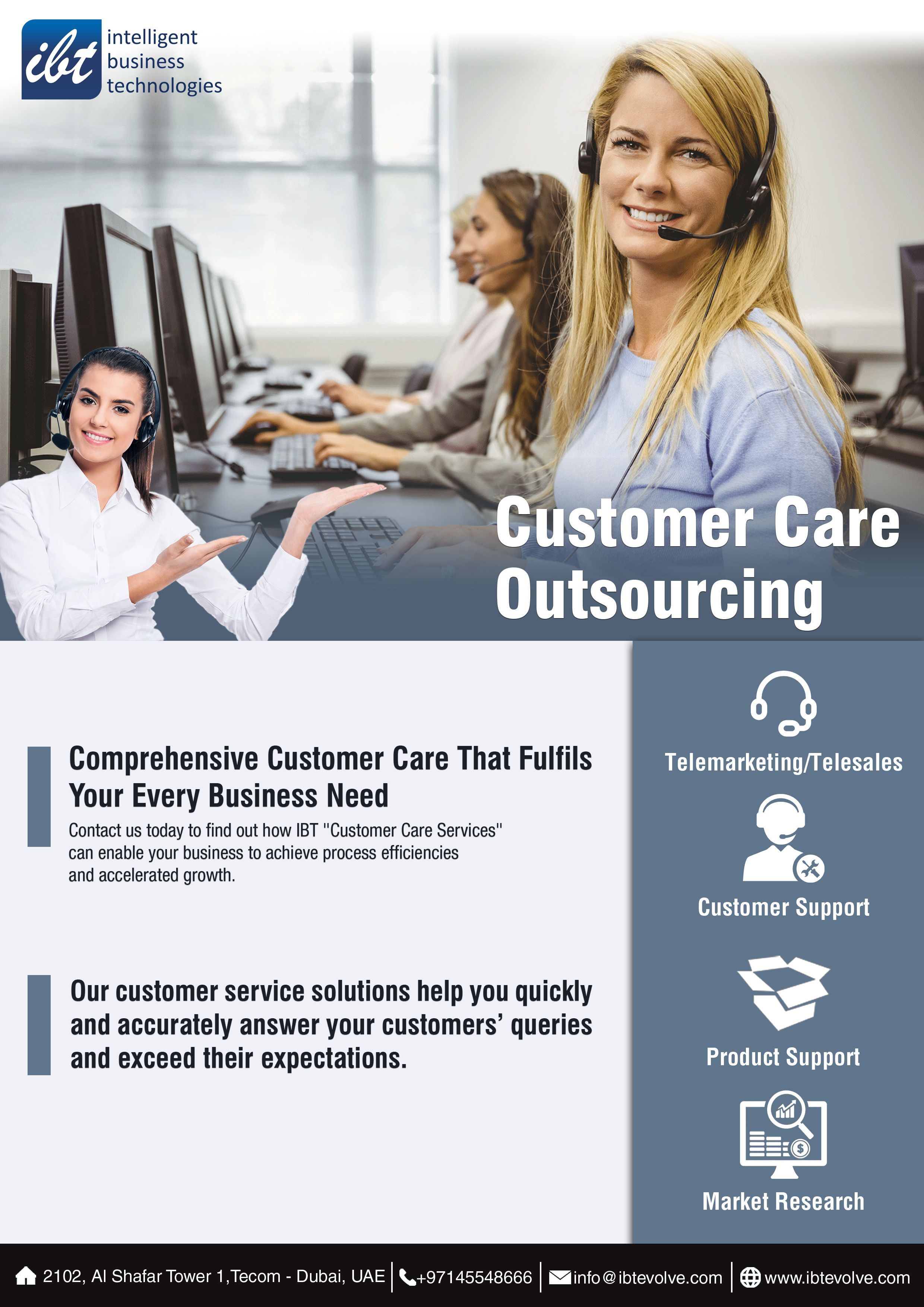 Customer Care Outsourcing Services In Dubai Abu Dhabi Uae