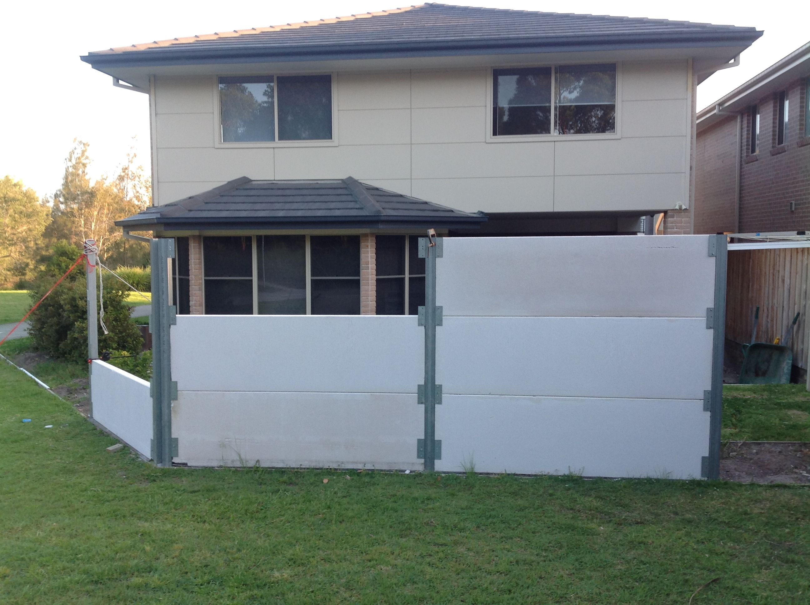 Hebel Wall 3 House Exterior Boundary Walls New Homes