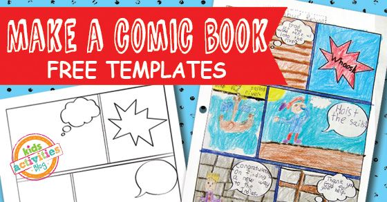 draw up our own story with a little help of the comic book templates