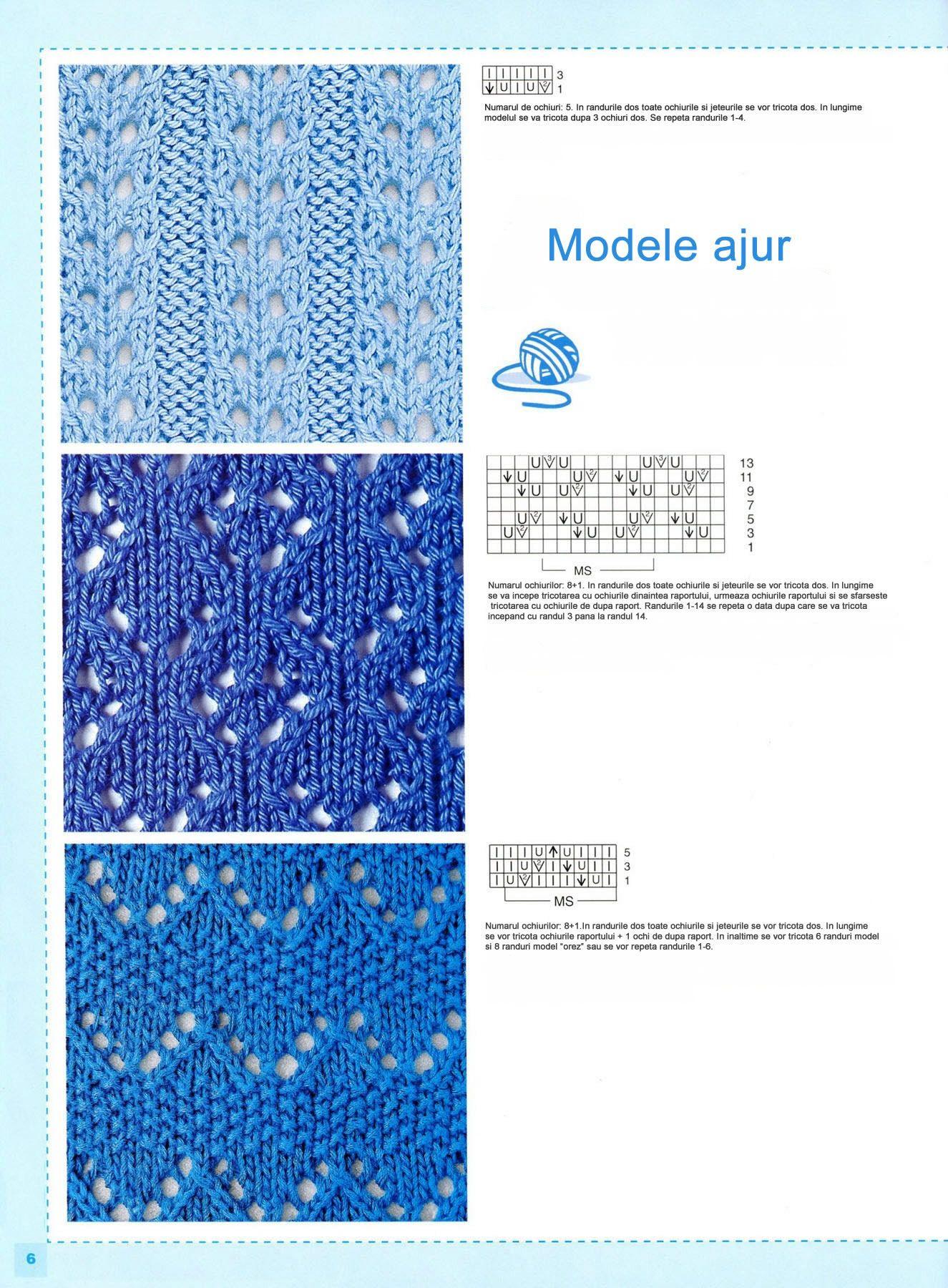 78 Modele de tricotat pagina 4 | trico | Pinterest | Modelado ...