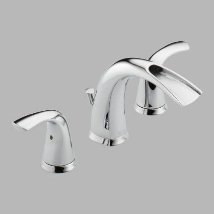 Delta 35708lf Nyla Two Handle Widespread Lavatory Faucet Chrome
