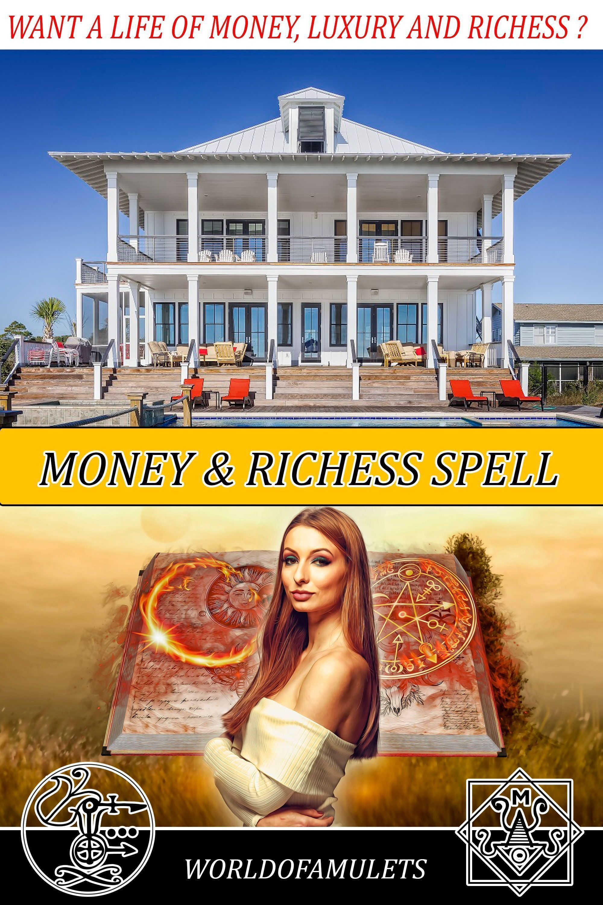 Witchcraft Wealth and Money Spell with Baal School of witchcraft and Wizardry School Beginner Witchcraft Spells #moneyspell Want a life of richess, money, wealth, expensive jewelry, luxury cars and homes and dream vacations?  Our Money Spell can make this true. Check the reviews  #money #spell #wealth #richess #moneyspell Witchcraft Wealth and Money Spell with Baal School of witchcraft and Wizardry School Beginner Witchcraft Spells #moneyspell Want a life of richess, money, wealth, expensive jew #moneyspell