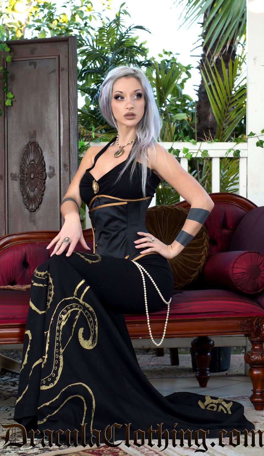 Kato Steampunk Dress Octopus Ball Go...