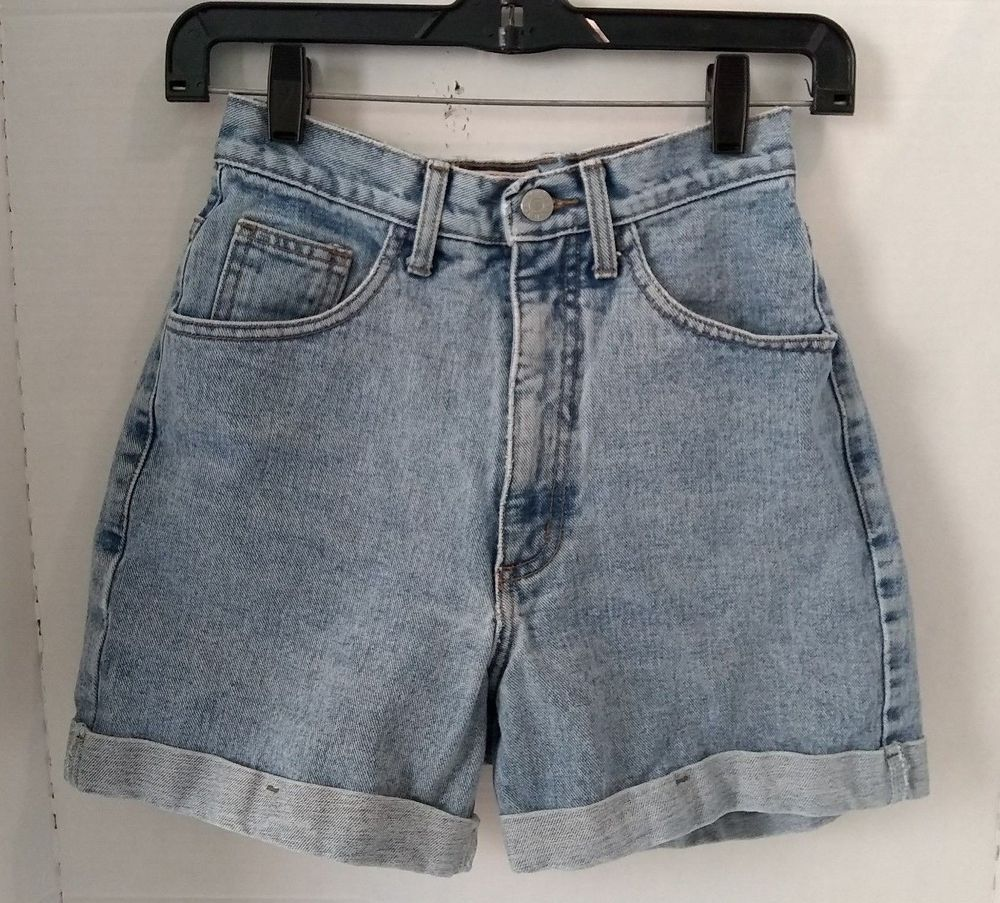 6afa0f1c Guess Jean Shorts Size 27 Vintage 90's Womens Mom High Waist Denim USA W 25  #GUESS #CasualShorts #Festival