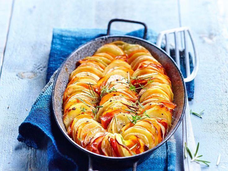 Tian de légumes d'hiver au miel - Recettes Découvrez la recette Tian de légumes d'hiver au m