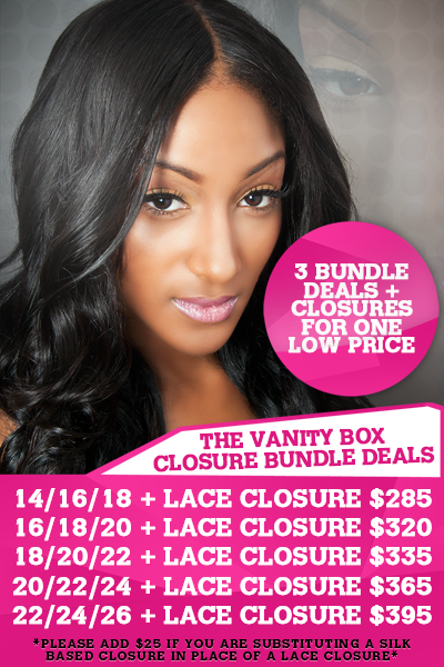 Awesome The Vanity Boxu0027 Closure + Bundle Deals Are Back By Popular Demand! Our  Signature