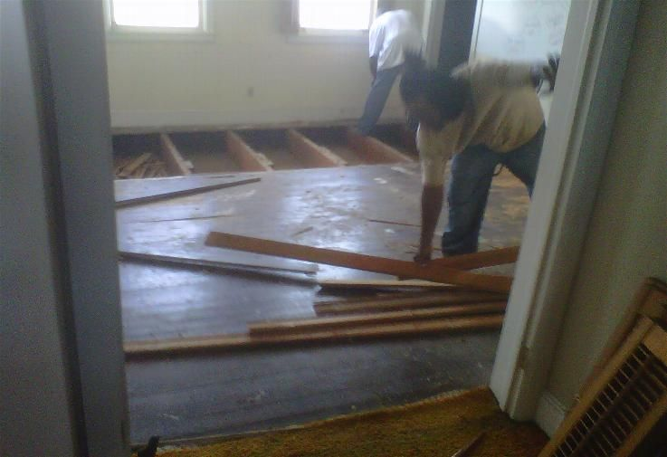 Salvaged Wood Floors And Barn