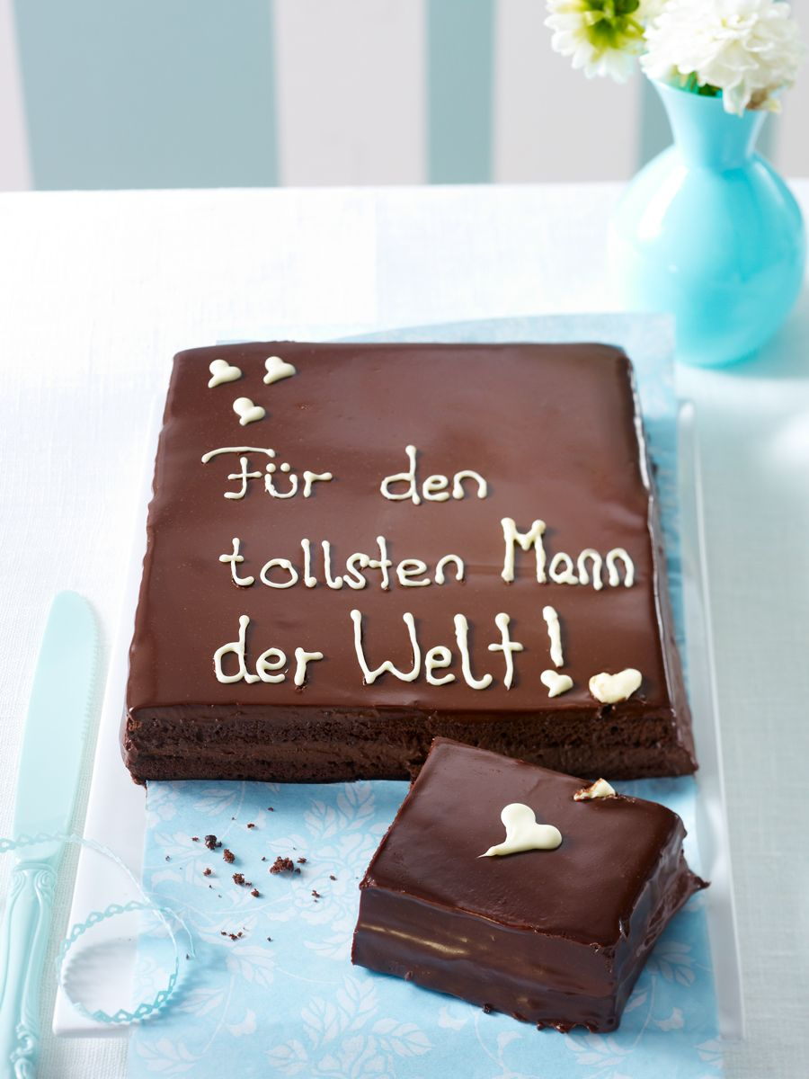 Photo of Chocolate cake with love – the perfect gift WUNDERWEIB
