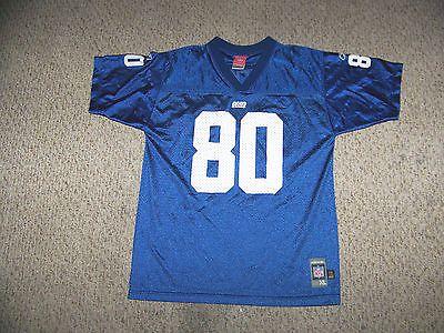 JEREMY SHOCKEY  80 New York Giants Football Jersey -- Youth XL by Reebok f15ac7a28