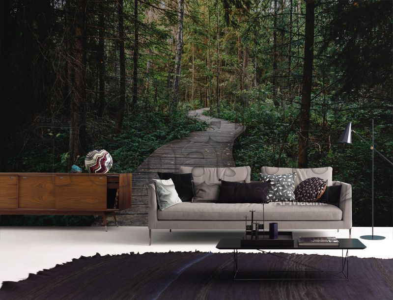 Into The Wood Wallpaper خلفيات ثري دي للحوائط Outdoor Sofa Outdoor Decor Outdoor Sectional