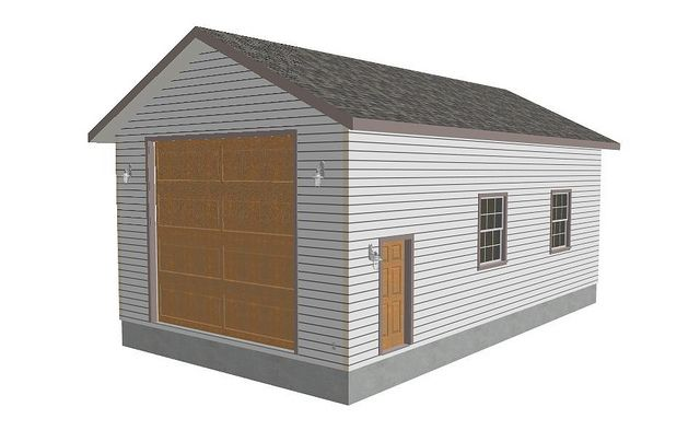 pdfgarages This g235 22 x 40 14 RV garage Plans is very – Affordable Garage Plans