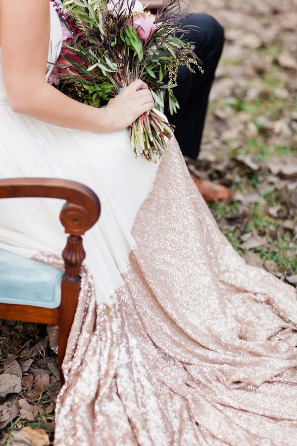 Modern Boho Glam Wedding Editorial - www.theperfectpalette.com - Jessica Sparks Photography, Flower Power Productions, Two Be Wed
