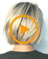 Ideas de peinados de moda: los cortes de pelo cortos y creativos Bob y peinados en capas