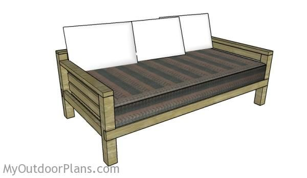 Diy Daybed Plans Free Outdoor Plans Diy Shed Wooden