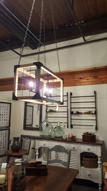 Country dining room light