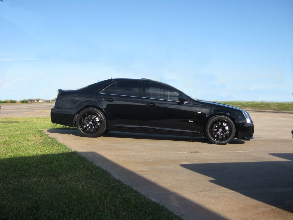 Cadillac sts v same like the one i had black on black best ride cadillac sts v same like the one i had black on black best publicscrutiny Image collections