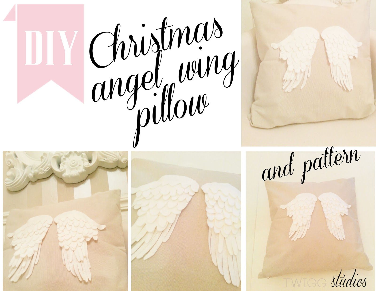 Angel wing pillow make it yourself pinterest angel wings diy angel wings shabby chic crafts angel crafts pillow tutorial fabric crafts diy crafts craft projects sewing projects holiday crafts solutioingenieria Image collections