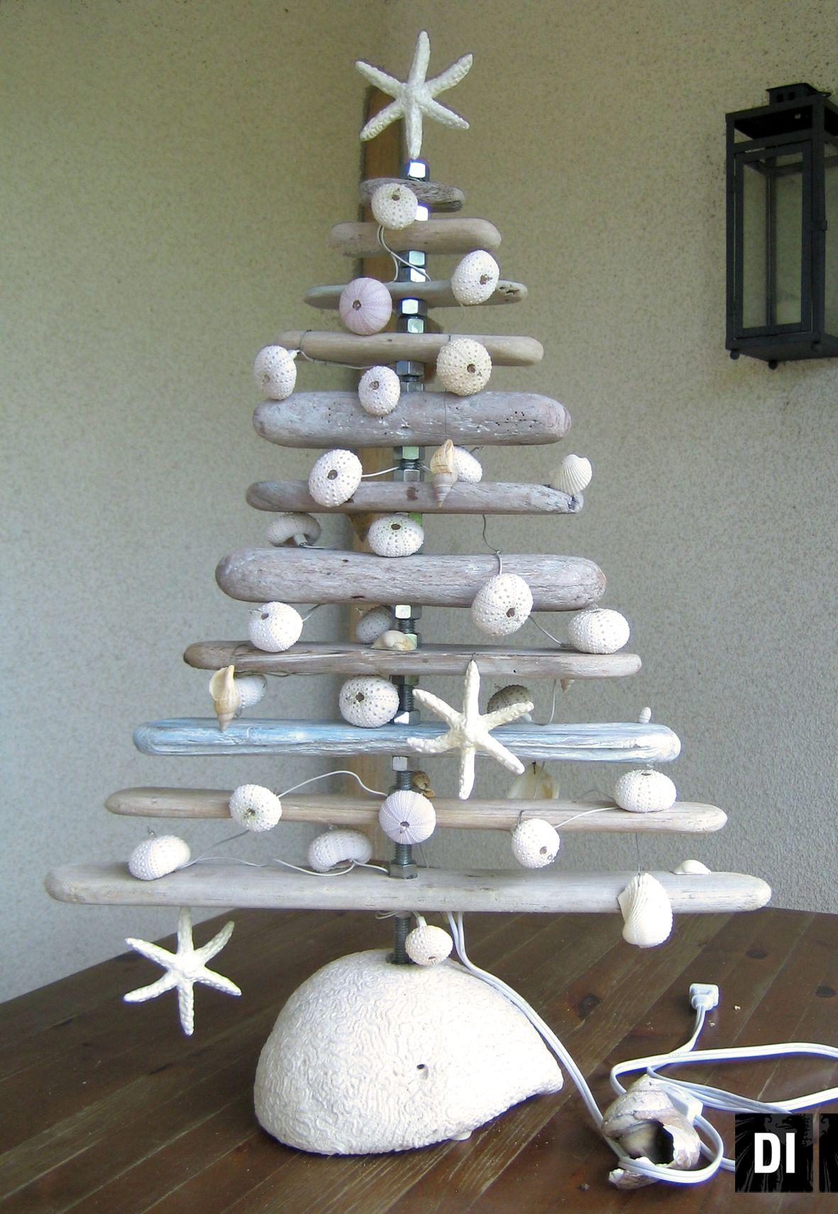 christmas tree driftwood
