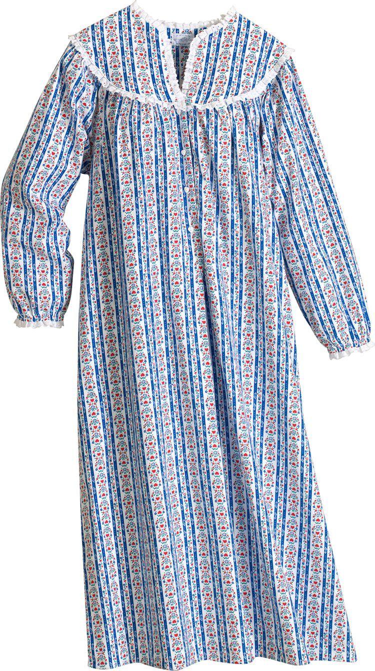 b7869b8f74 Lanz of Salzburg Flannel Nightgown