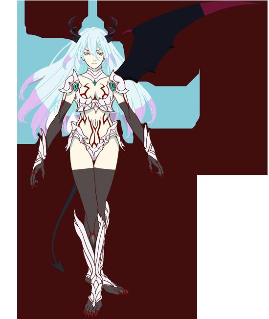 Shingeki no Bahamut - Genesis Personagem: AMIRA - Ver. DEMÔNIO.