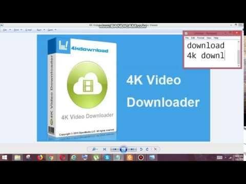 4k downloader full version
