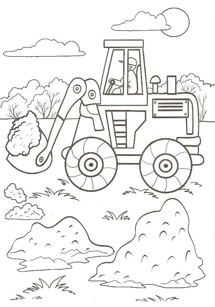 Раскраска для мальчиков В мире машин | Детские рисунки ...