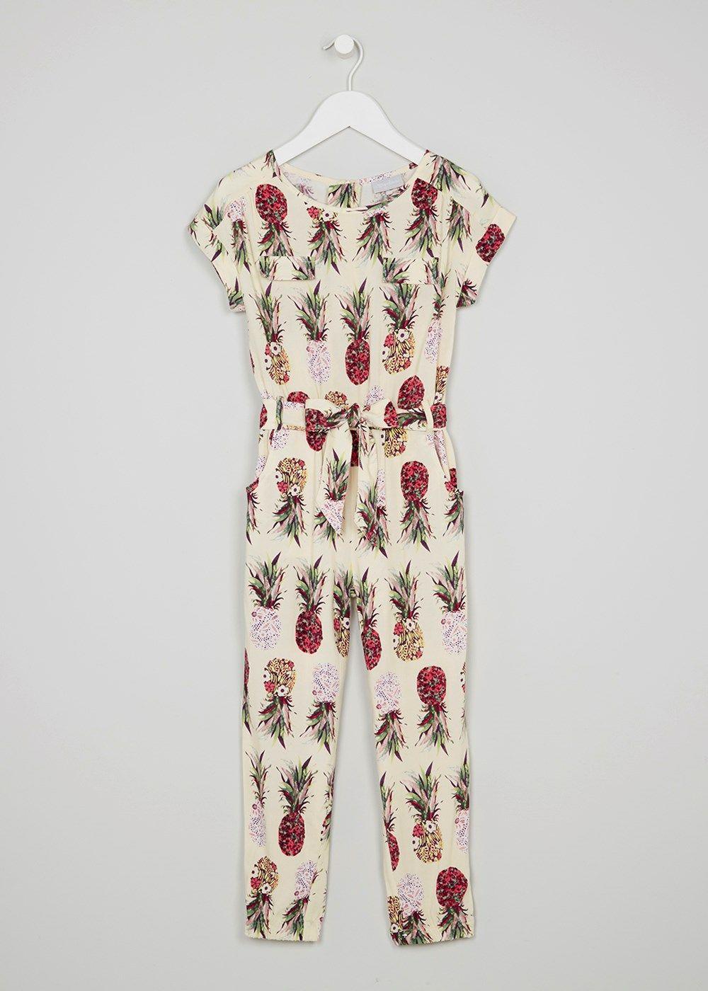 4385240c70 Girls Pineapple Print Jumpsuit (3-13yrs) - Matalan