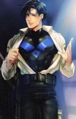 A sinking superhero (Nightwing x superhero reader) | DC