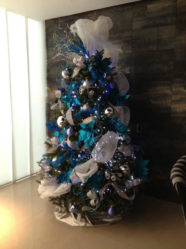 resultado de imagen para pinterest arboles de navidad decorados color negro - Arboles De Navidad Adornados