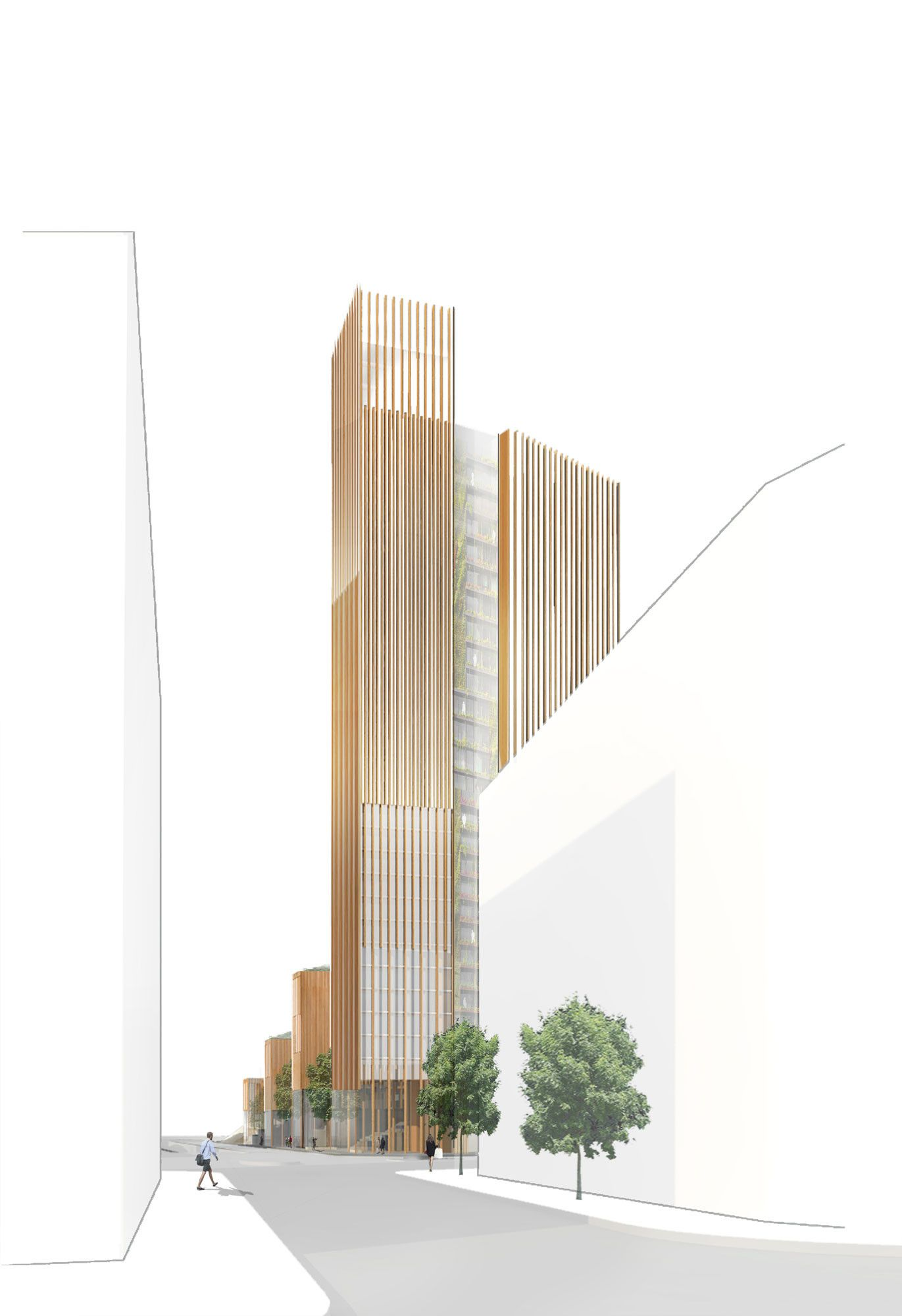 Gallery of MGA Proposes World's Tallest Wood Building in