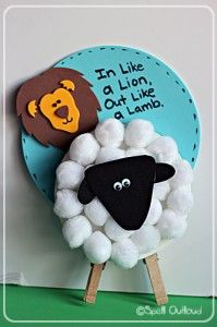 This month's featured craft is a cute, versatile lamb craft. I first saw this adorable lamb over at Family Fun and knew my little girls would love helping me make it (check out the their site for a lion version of this craft.) I tweaked the original craft and came up with our own Easter …