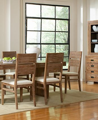 I like the color/stain of this table and chair set.