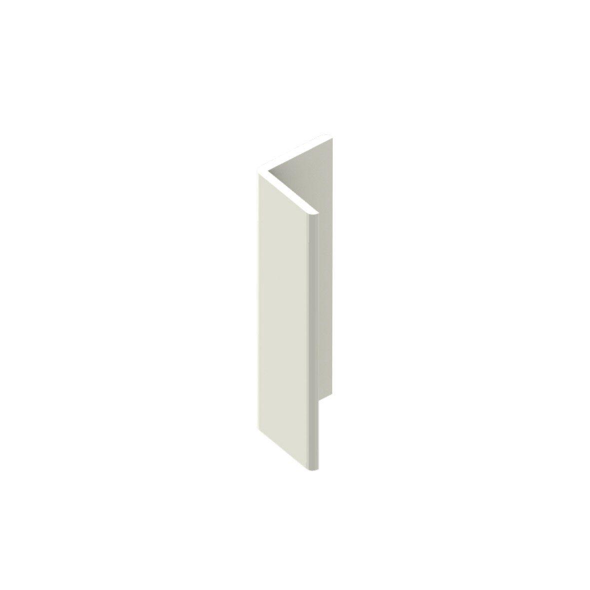 Cornière De Toiture Pvc Cellulaire 50x50 Mm Blanc Pvc In