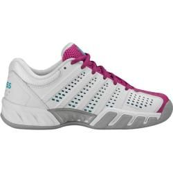 Photo of K-swisstennis women's tennis shoes Indoor Big Shot Light 2.5 Carpet, size 36 in White / VerryBerry / Bach