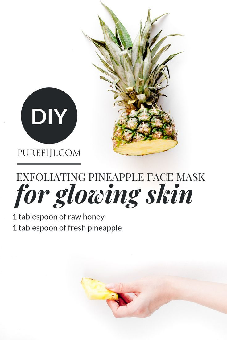 7 Surprising Beauty Benefits of Pineapple Pineapple face