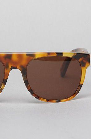 #MissKL #MissKLCoachella Super Sunglasses The Flat Top Small Sunglasses in Dark Havana: Miss KL
