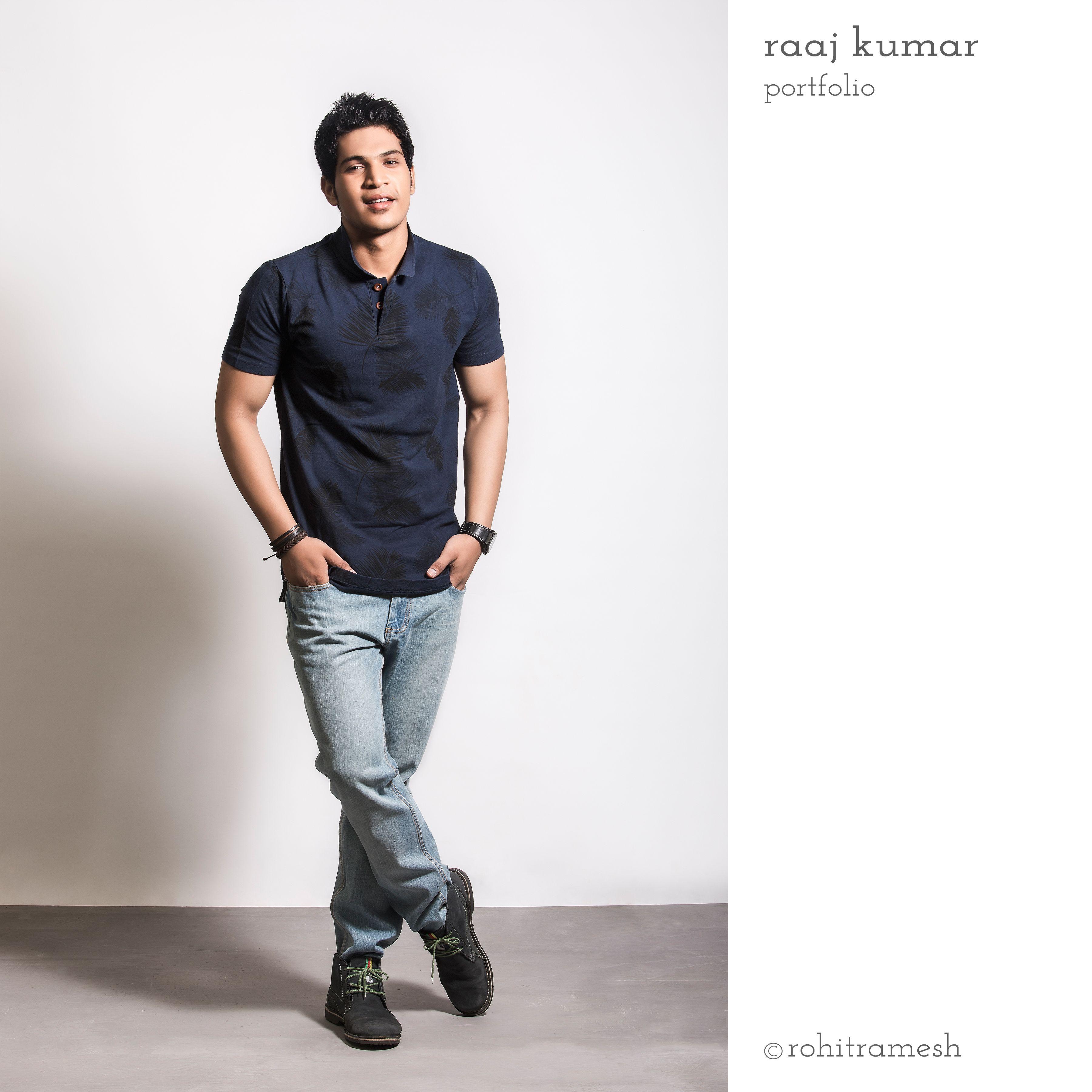 Casual Wear Men Fashion Modeling Photography Raaj Kumar Portfolio By Rohit Ramesh