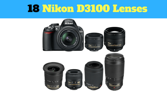 Ultimate Guide To Nikon D3100 Lenses For Beginners Contain Prime Zoom 100 Compatible Lenses Te Camera Photography Photography Camera Dslr Photography Tips