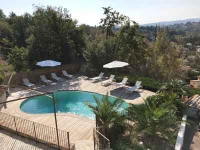 Piscine des Chambres du0027hôtes à vendre à Saint Paul de Vence dans les - chambre d hotes aix en provence piscine
