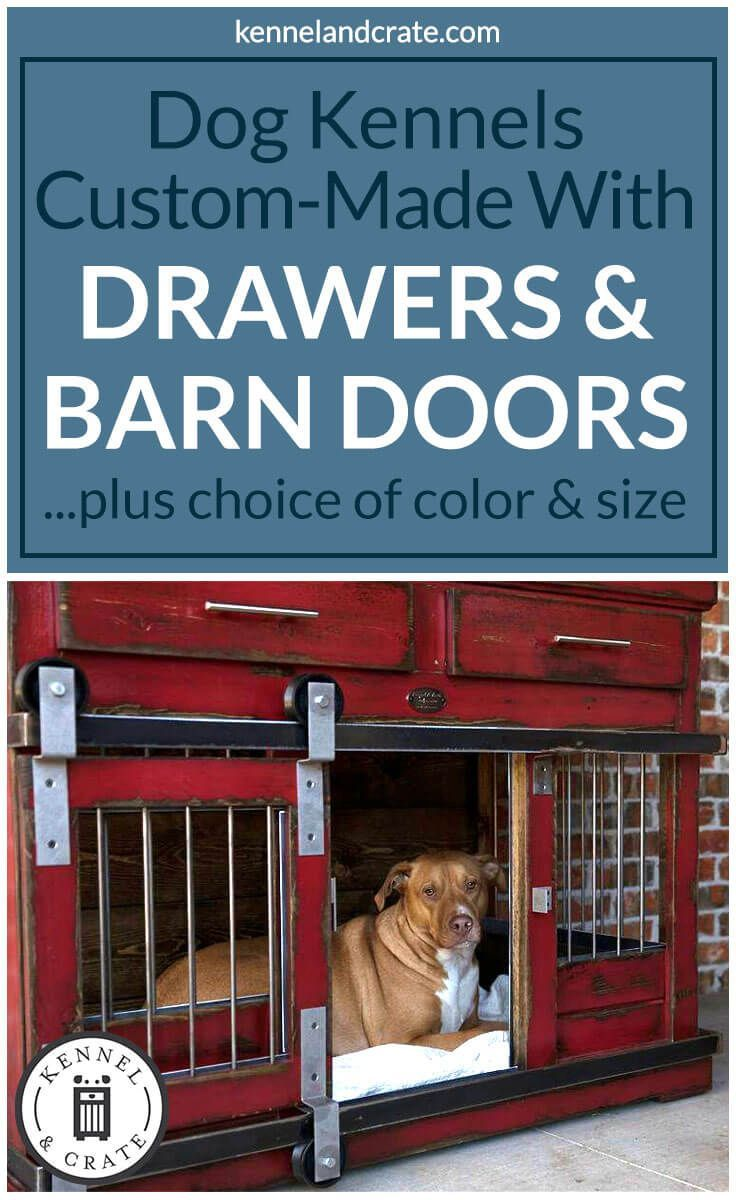 Designer Indoor Single Or Double Dog Kennels Replace Your Wire Dog